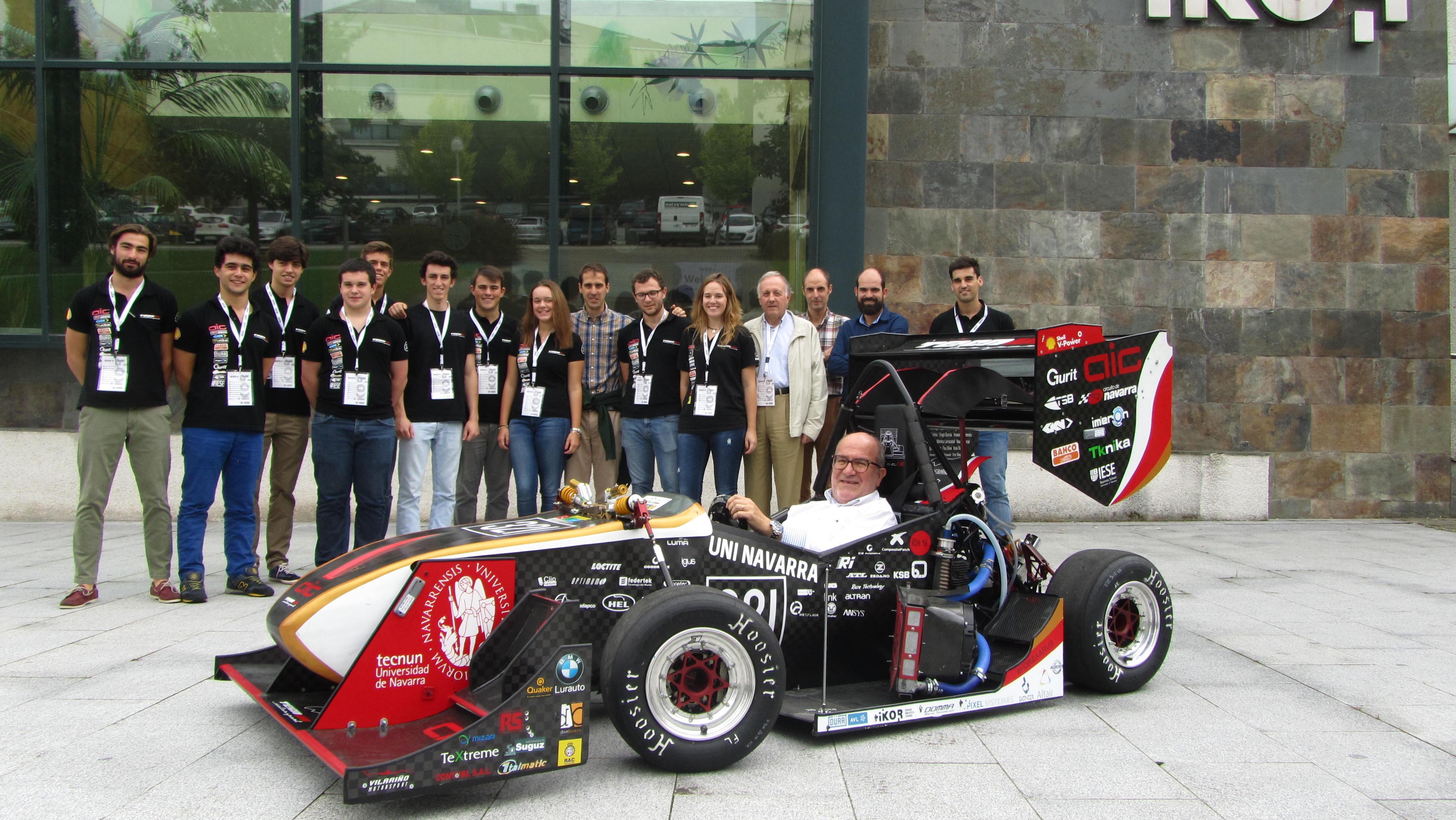 Tecnun Motorsport Visita Ikor Ikor